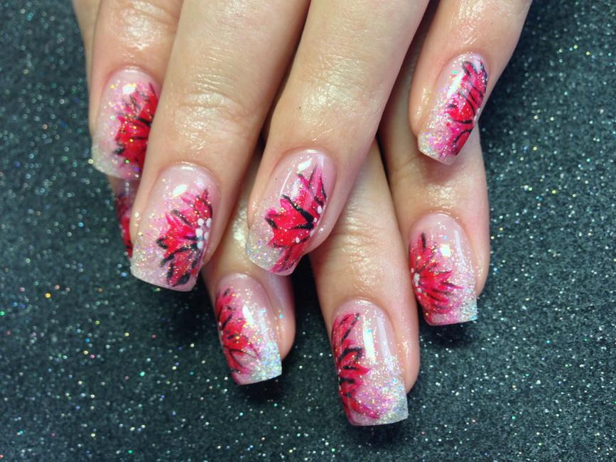 acrylic nail designs Top 30 Spring Nail Designs