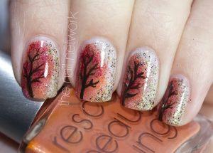 autumn nail designs