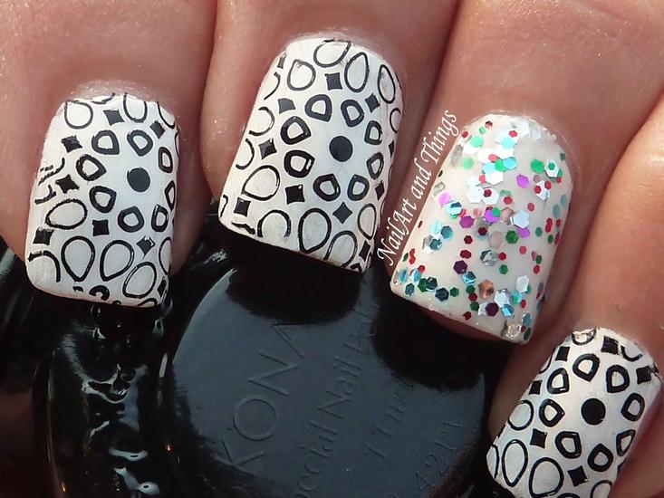 black and white nail ideas 20 Amazing Black and white nail designs