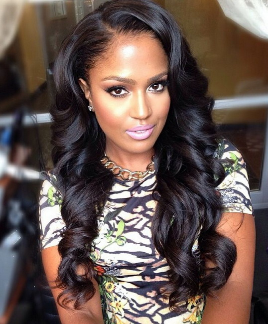 black weaves hairstyles