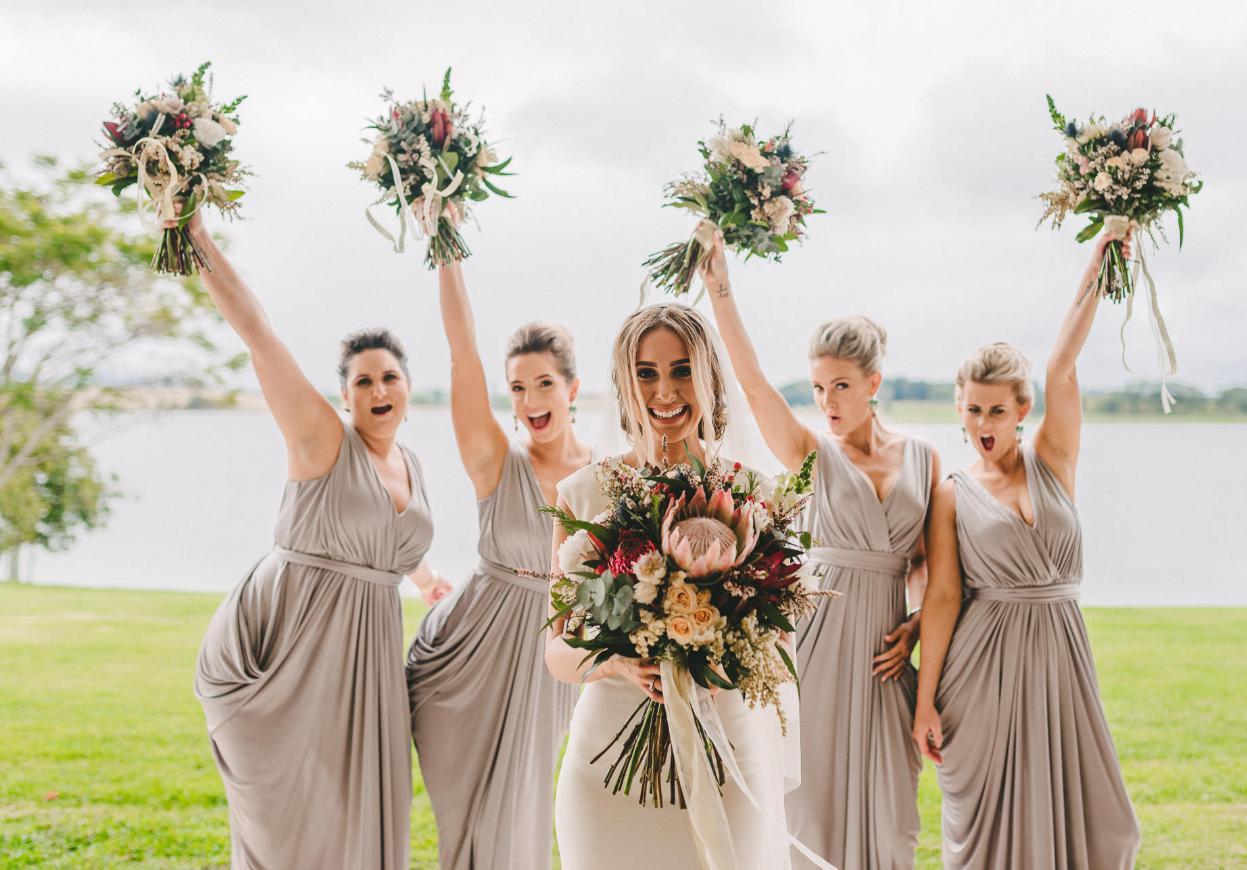 bridesmaid hairstyle braid