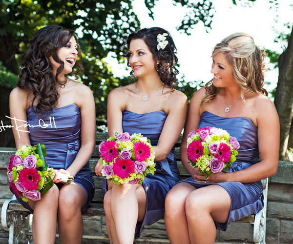 bridesmaid hairstyles for medium hair Bridesmaids Hairstyles for short & medium & long hair