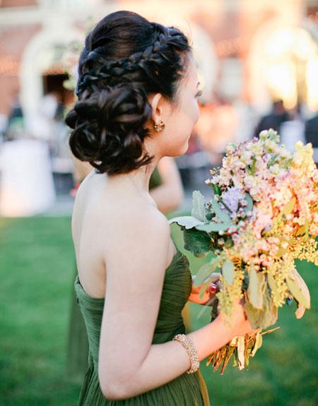 bridesmaid hairstyles for short hair Bridesmaids Hairstyles for short & medium & long hair