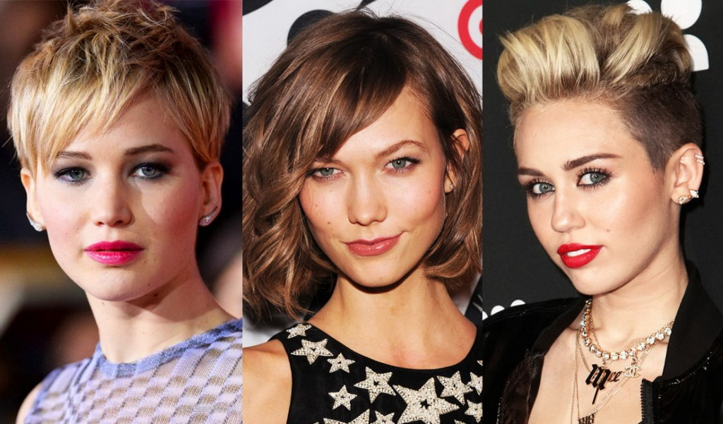 celebrity short hairstyles 2015 1024x601 Short Hairstyles for women 2015