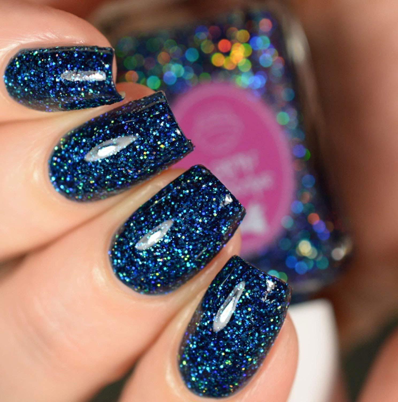 clear-glitter-nail-designs