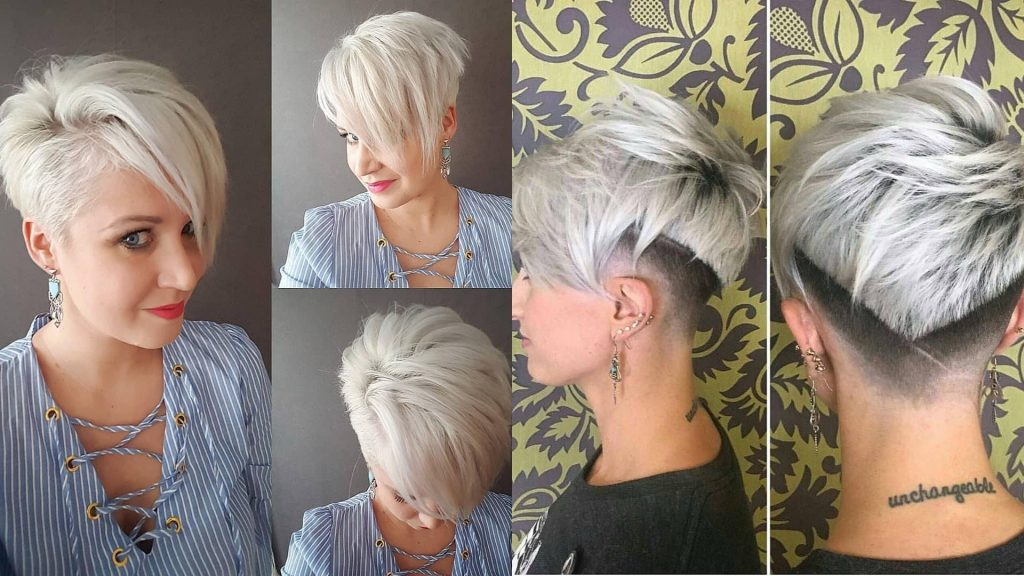 cool very short hairstyle
