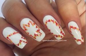 cute easy fall nail designs