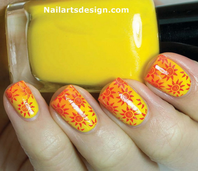 cute fall nail designs