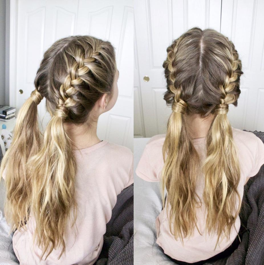 cute french braided hairstyles