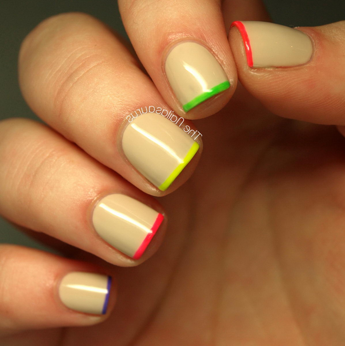 cute-french-tip-nail-designs