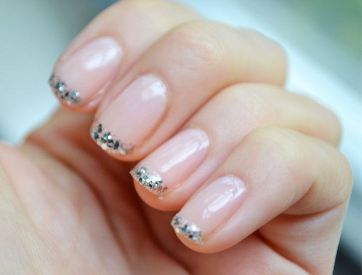20 most exclusive french tip nail designs yve style cute french tip nail designs prinsesfo Gallery