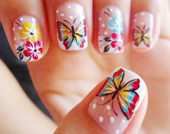 cute nail designs for spring