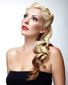 cute pin up hairstyles