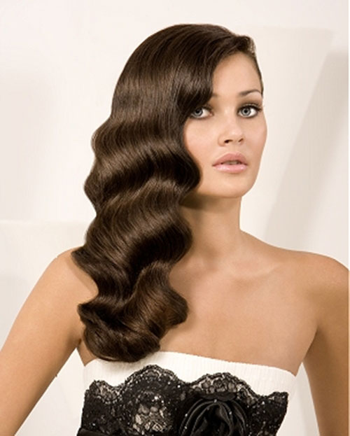 Vintage Hairstyles for all type of parties yve style