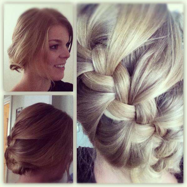 easy braid hairstyles French braided hairstyles