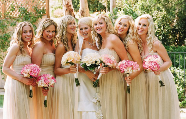Hairstyle In Wedding Party: Bridesmaids Hairstyles For Short & Medium & Long Hair