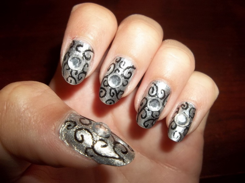 easy fall nail designs
