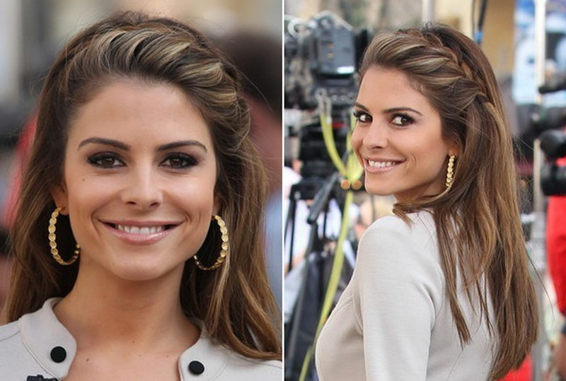 easy french braid hairstyles French braided hairstyles