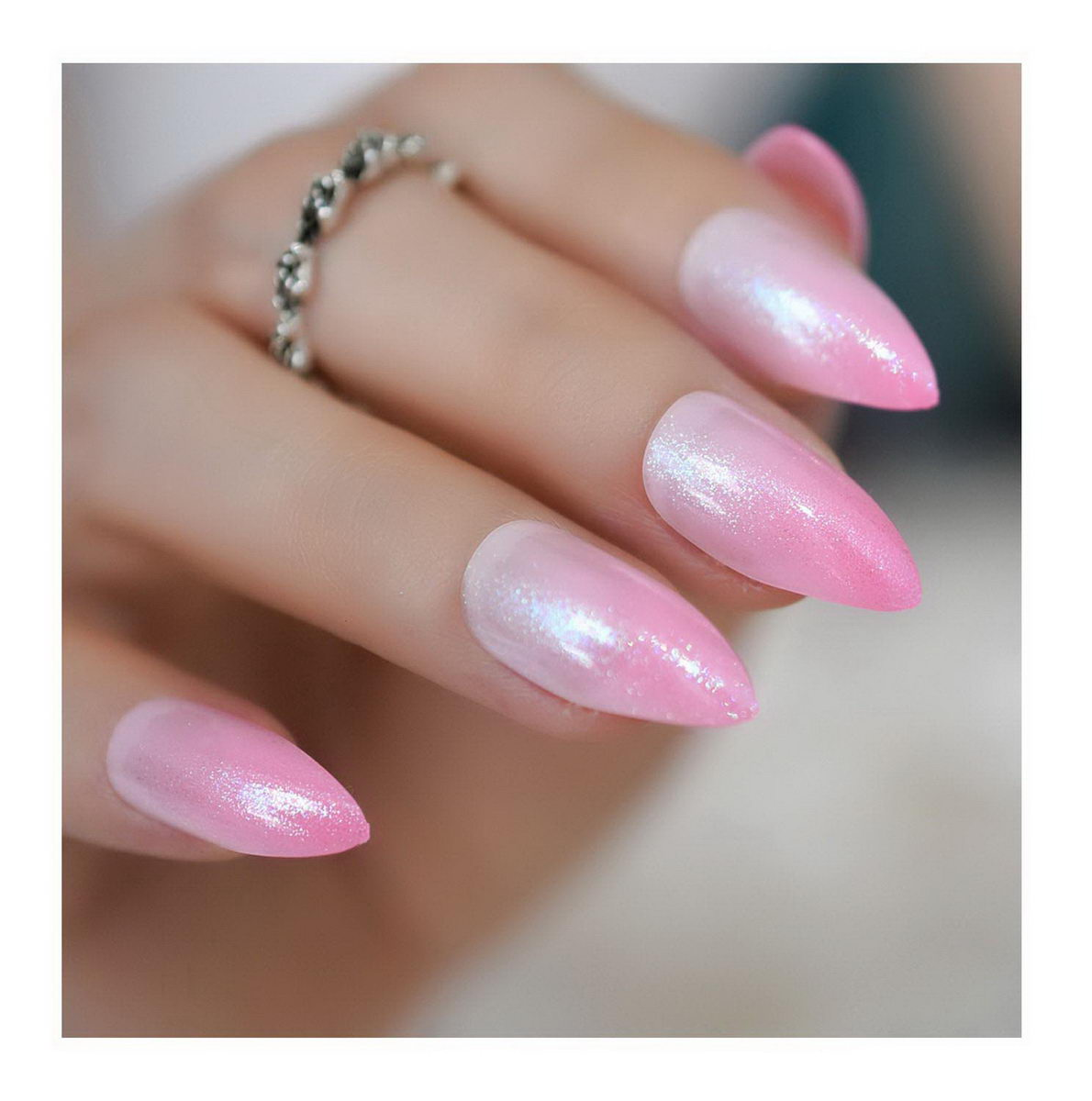 elegant french tip nail designs