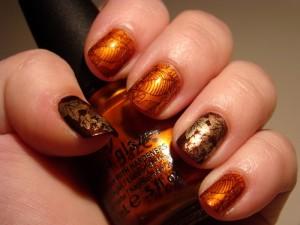 fall nails design 2015