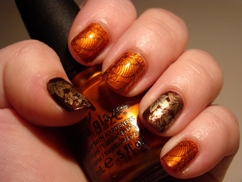 fall nails design 2018