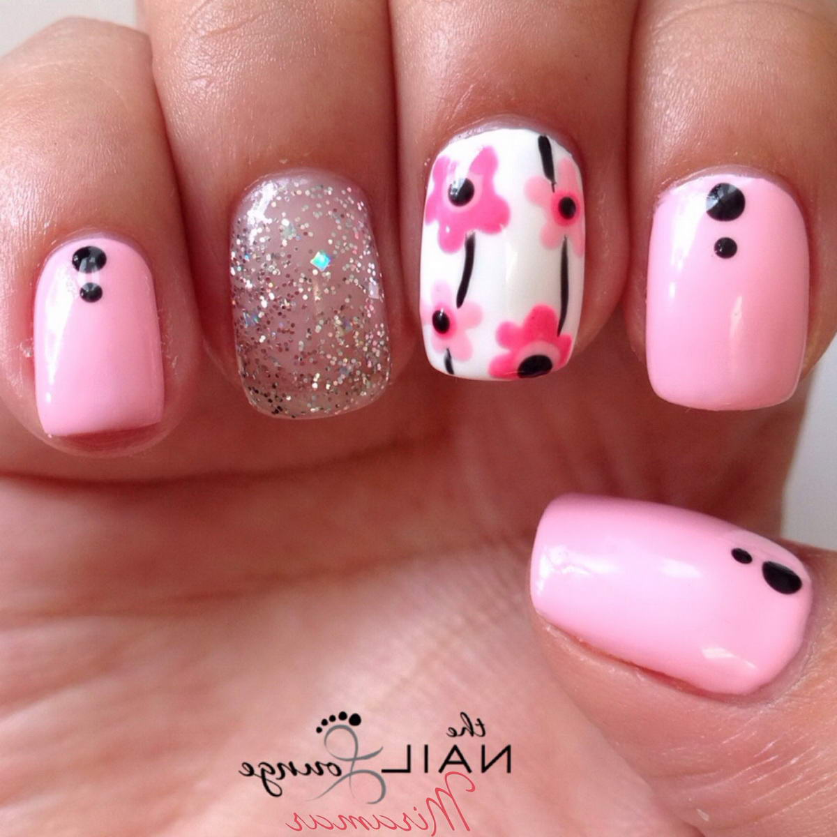 flower art nail designs