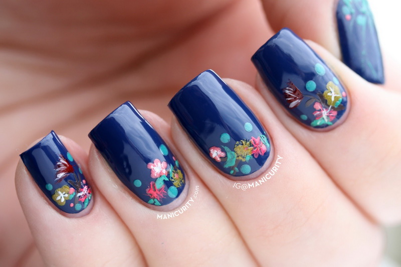 flower nails designs