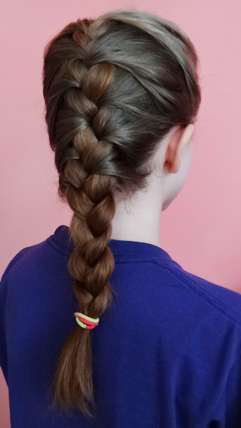 french braid black hairstyles