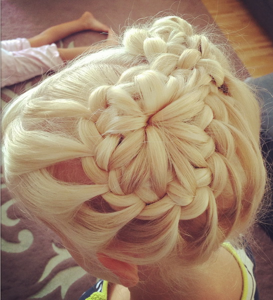 french braid hairstyle French braided hairstyles