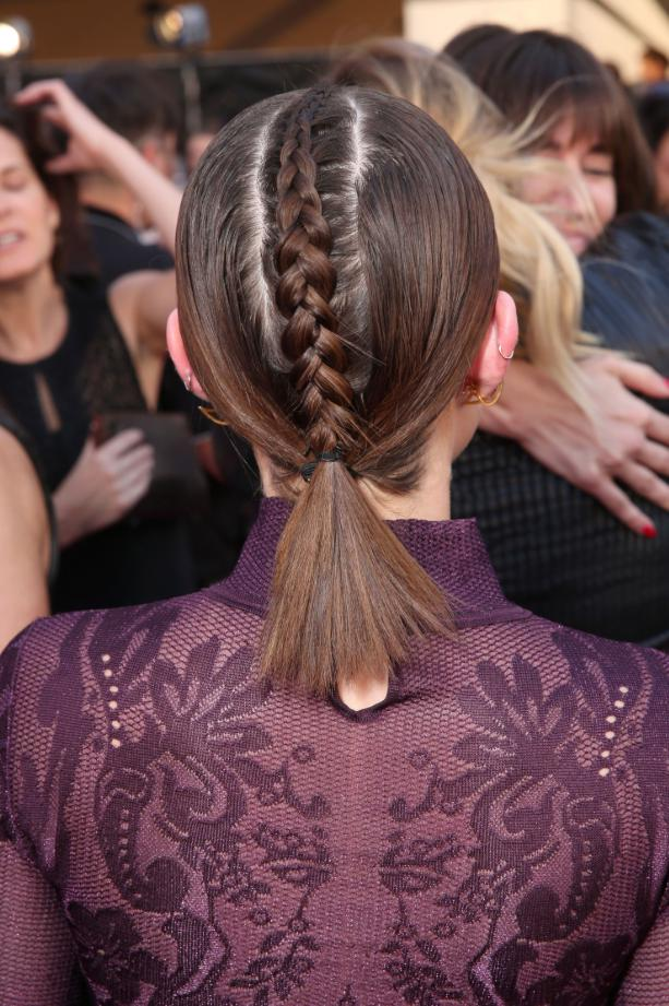 french braided hairstyles for short hair