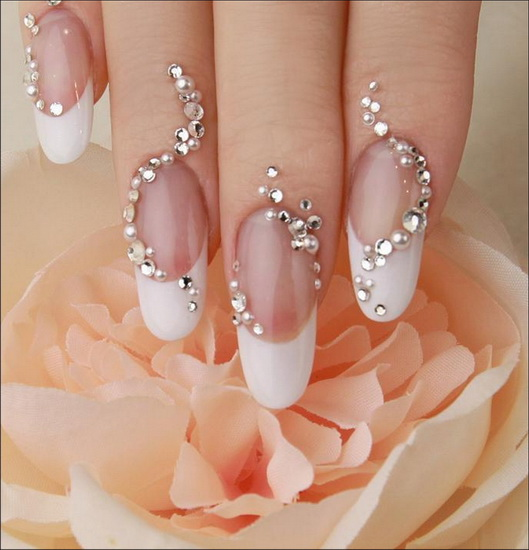 french tip nail art designs 20 most exclusive French tip nail designs