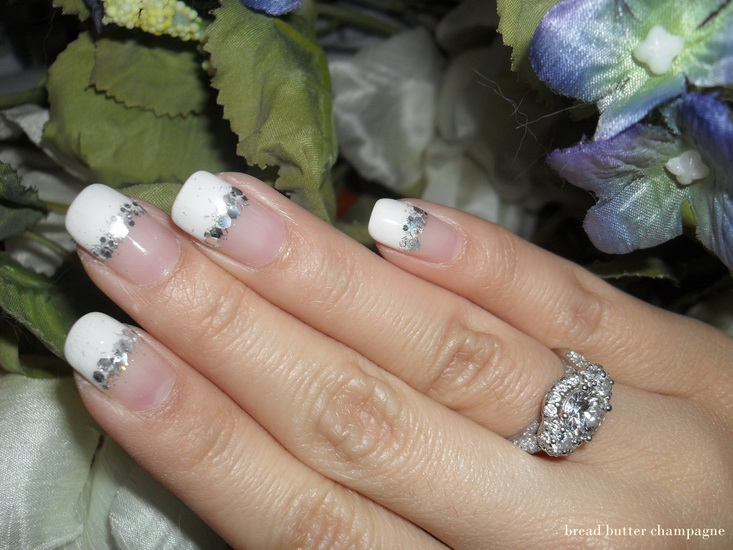 french tip nail design ideas 20 most exclusive french tip nail designs - Nail Tip Designs Ideas