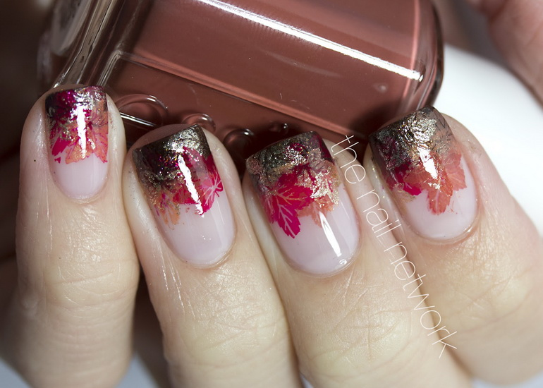 french tip nail designs 2015