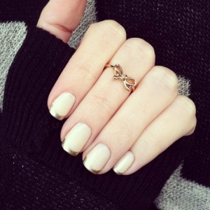 french tip nail ideas
