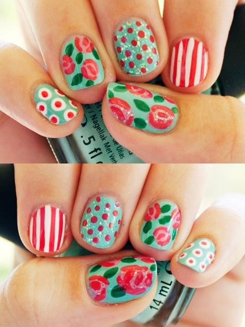 Nail designs spring 2014 choice image nail art and nail design ideas top 30 spring nail designs yve style fun spring nail designs top 30 spring nail designs prinsesfo Choice Image