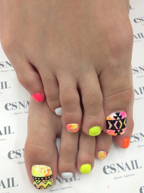 fun toe nail designs