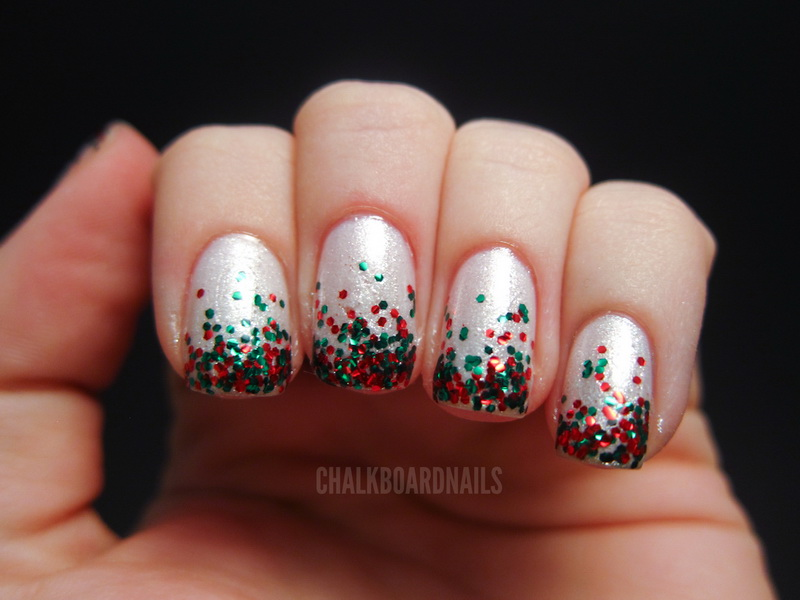 Glitter nail designs for shiny hands