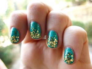 glitter nail design ideas