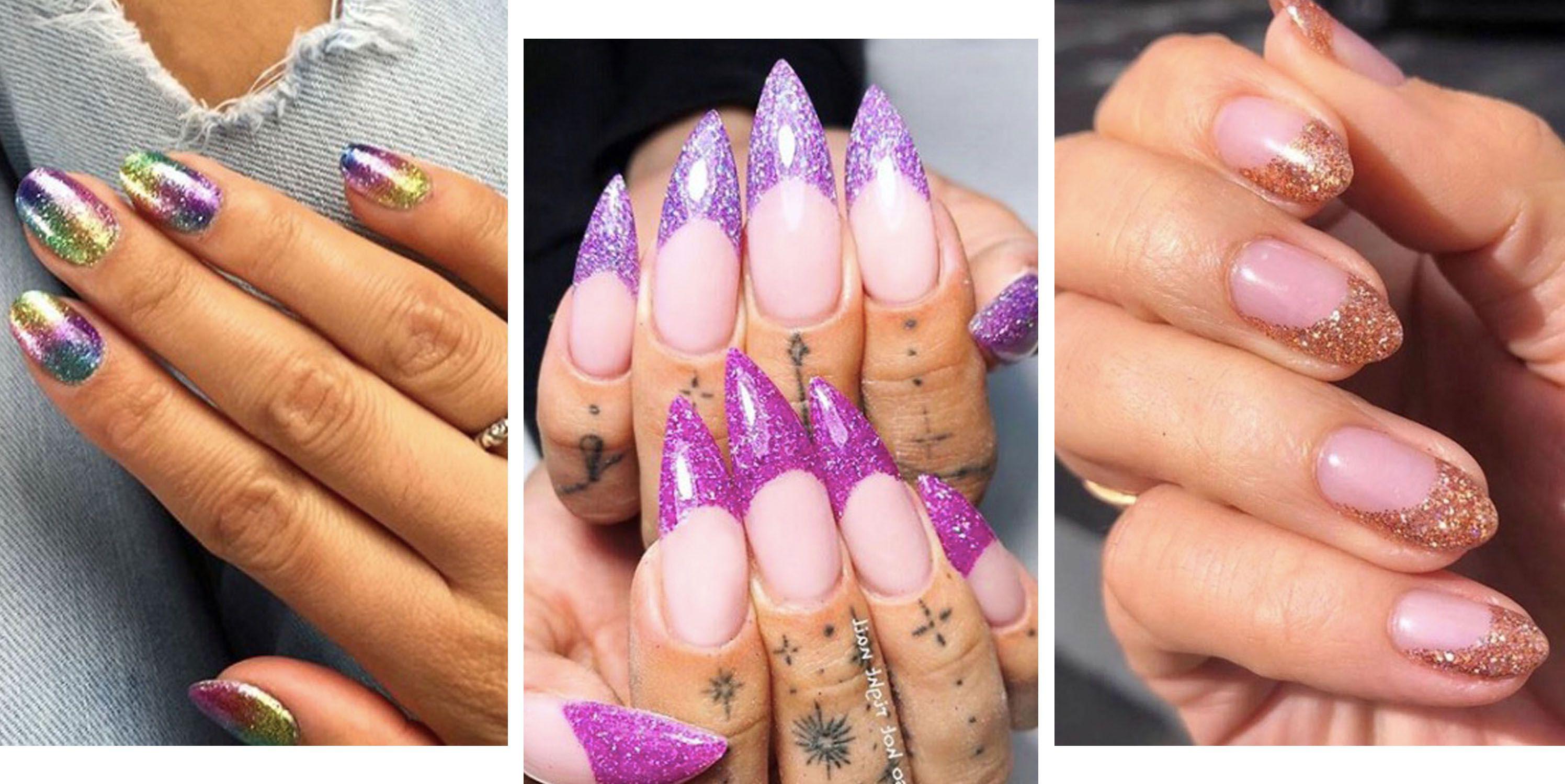 glitter-nails-designs