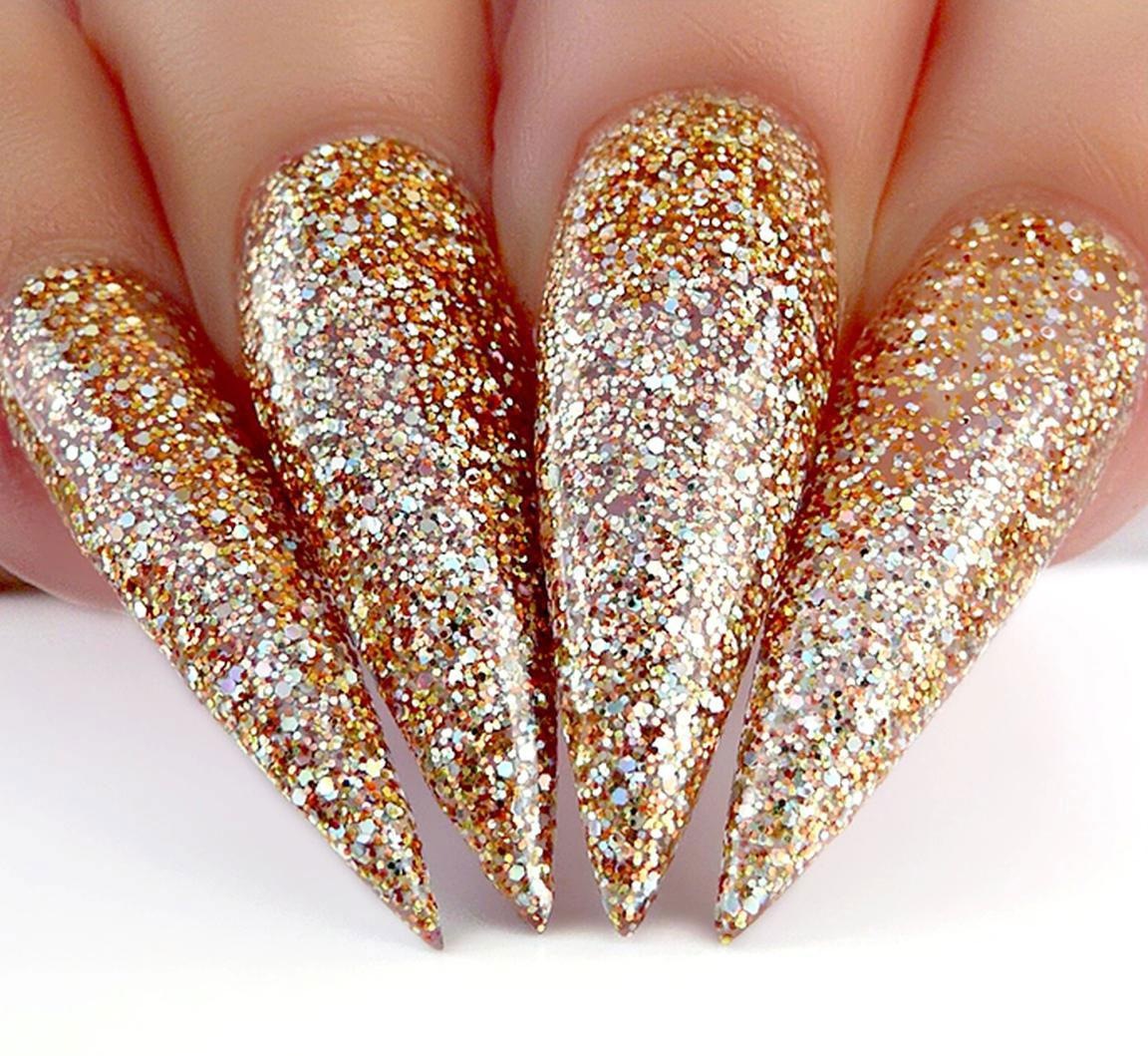 gold-glitter-nail-designs