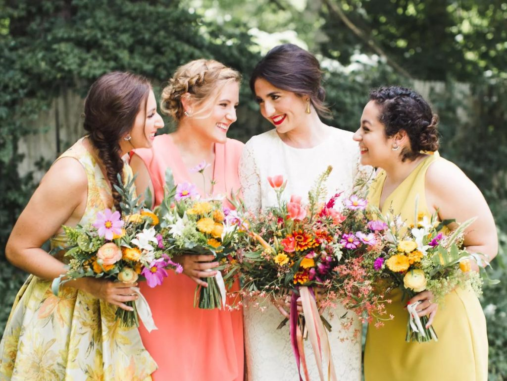 hairstyle bridesmaid
