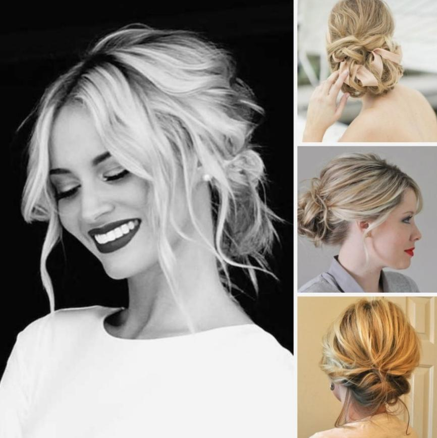 hairstyle for the bridesmaid
