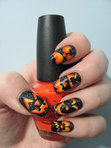 Halloween Nail Designs pictures - yve-style.com