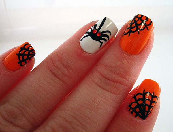 ... halloween nail art ideas Halloween Nail Designs pictures ... - Halloween Nail Designs Pictures - Yve-style.com