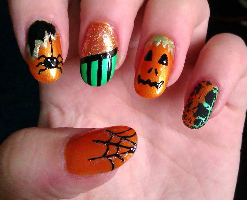 halloween nail art Halloween Nail Designs pictures