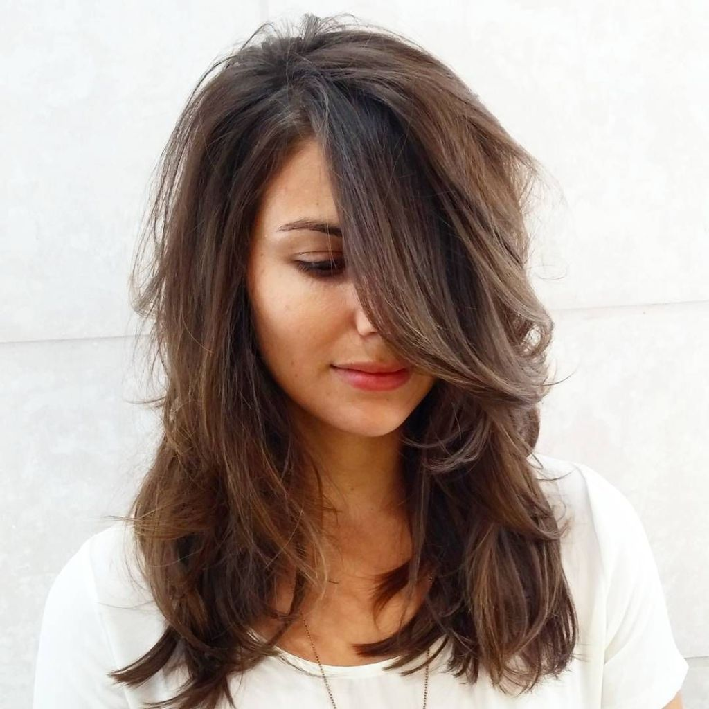layered hair hairstyles
