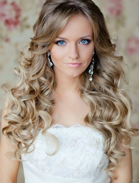 long curly hairstyles with bangs Long curly hairstyles 2015