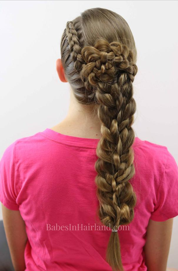 long french braided hairstyles
