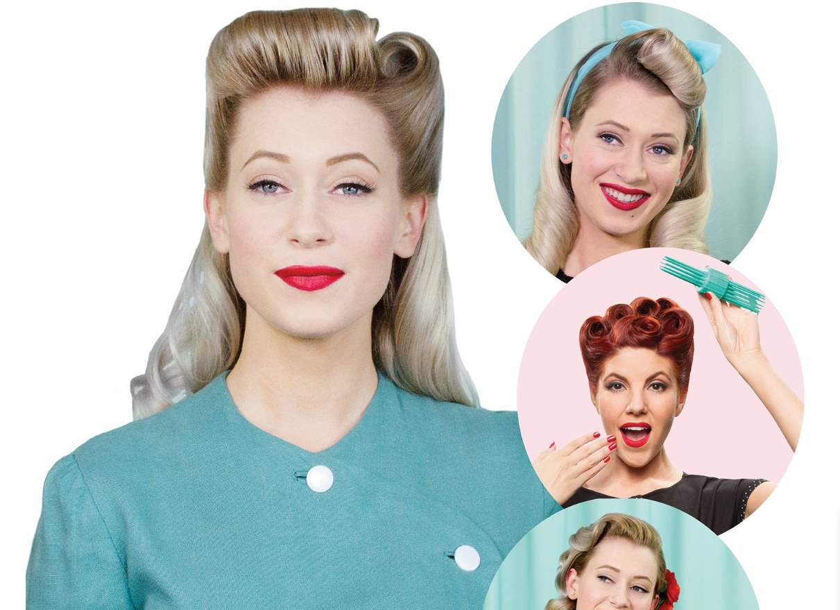 long pin up hairstyles