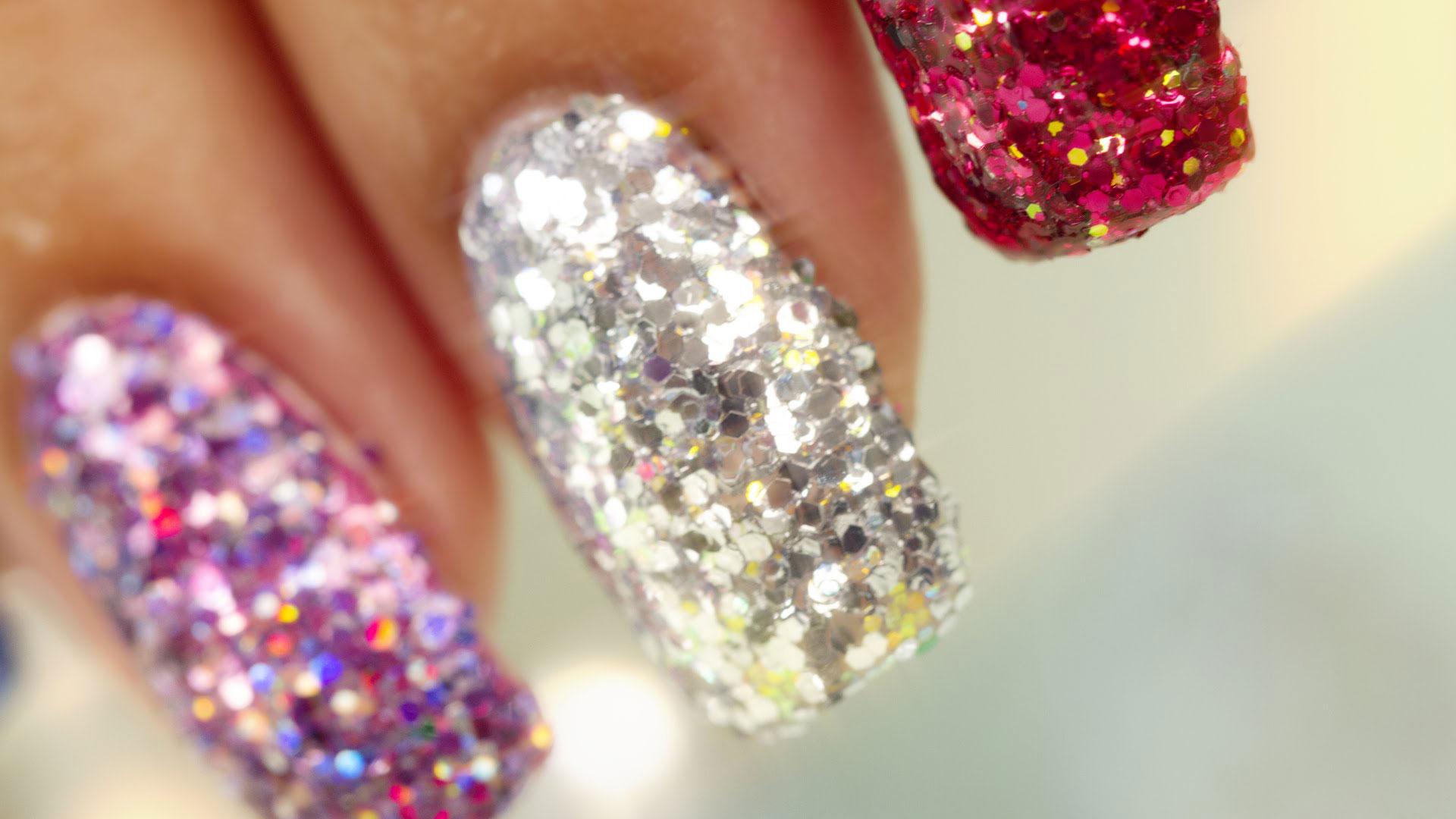 nail-designs-glitter